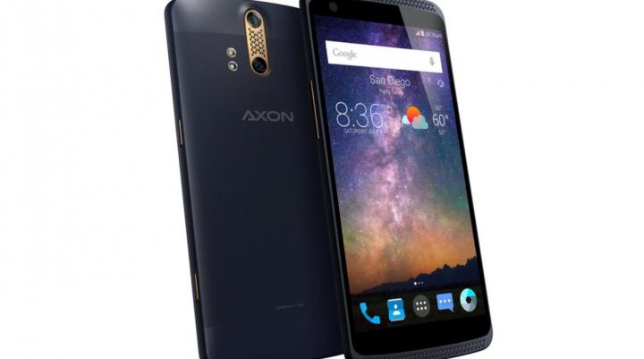 Nou ZTE Axon depăşeşte performanţa Galaxy S6 şi HTC One M9