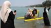 Mai multă libertate? În Cecenia a fost inaugurată o plajă doar pentru femei