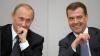 Putin şi Medvedev, din nou în gura presei. Cum şi-au petrecut timpul cei doi la Soci (VIDEO)