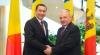 Despre ce au discutat Victor Ponta şi Nicolae Timofti la Chişinău