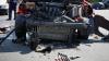 ACCIDENT GRAV în raionul Şoldăneşti! Un tractor, rupt în bucăţi după impactul cu o maşină (VIDEO)
