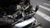 ACCIDENT pe şoseaua Balcani din Capitală. Două maşini s-au făcut zob (FOTO)