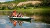 Excursii pe râul Nistru. Modul neobişnuit în care au ales unii moldoveni să îşi petreacă ziua de duminică