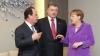 În Ziua Independenţei Ucrainei, Hollande, Merkel şi Poroșenko se vor întâlni la Berlin