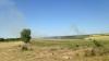 Focare de incendii în ţară! Un câmp din Şoldăneşti, cuprins de flăcări (FOTO)