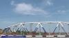 Podul de pe Nistru, vopsit în culorile de pe steagurile Rusiei şi regiunii transnistrene (VIDEO)