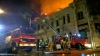 Pompierii au anunţat cauza preliminară a incendiului produs pe strada Puşkin din Capitală