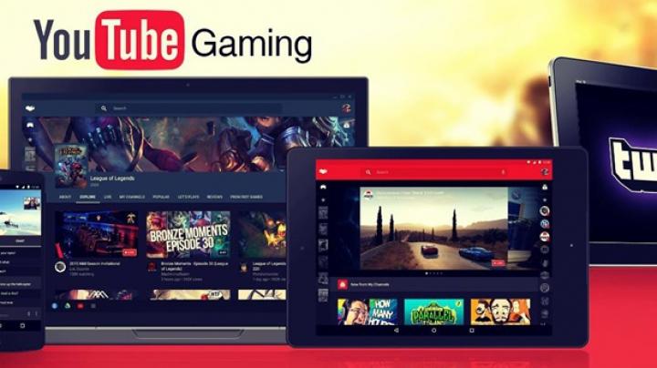 Şi mai mult conţinut multimedia. Youtube a lansat o platformă de streaming a jocurilor video