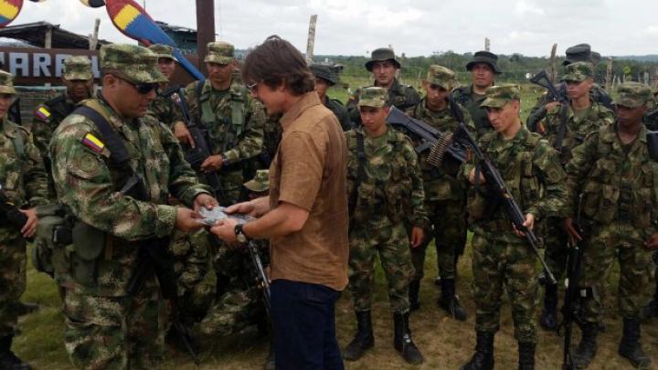 Tom Cruise a ajuns în armata columbiana. Cum a fost primit de soldați