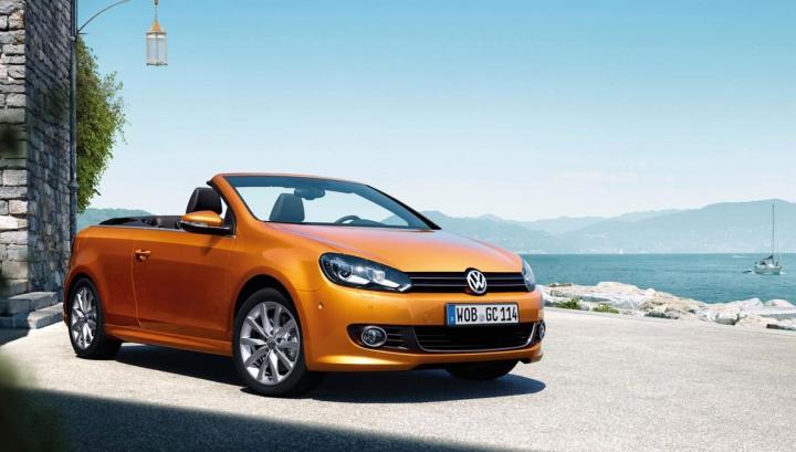 A cam întârziat! La sfârşit de vară, Volkswagen anunţă modificări discrete pentru Golf Cabriolet