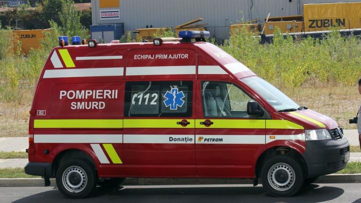 Încă o victimă! Ce a păţit un pompier care participa la descarcerare în cazul accidentului de la Brăila