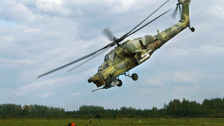 Elicopter militar, prăbuşit în timpul unui show aviatic în Rusia. EXPLICAŢIA ministrului Apărării