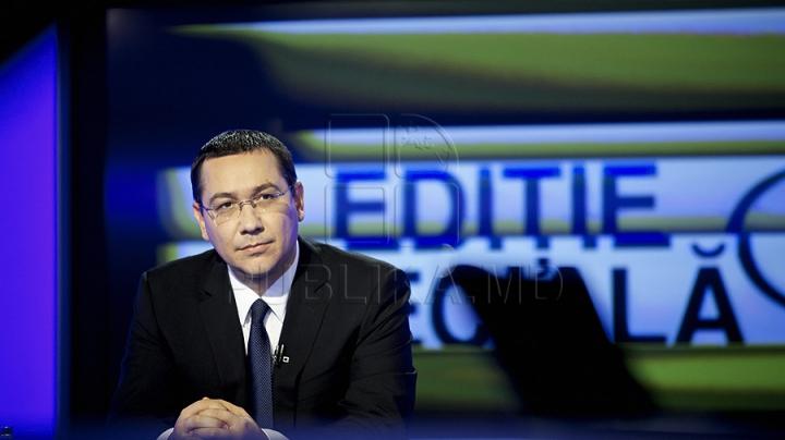 Valeriu Streleţ, felicitat de omologul său român. Ce mesaj a transmis Victor Ponta