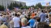 """Socialiștii și formațiunea """"Partidul Nostru"""" au protestat în Chișinău"""