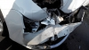 ACCIDENT GRAV în sectorul Ciocana al Capitalei. O maşină s-a lovit cu un microbuz (VIDEO)