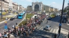 CRIZA IMIGRANȚILOR ÎN UNGARIA: 1.000 de oameni au plecat pe jos din Budapesta spre Austria
