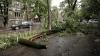 PRĂPĂD în Capitală! Unii şoferi, şocaţi când şi-au văzut maşinile distruse după ploaie (VIDEO)