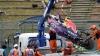 Accident SPECTACULOS la Marele Premiu al Japoniei. Kviat a rămas viu ca prin minune