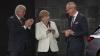 Angela Merkel a vizitat standul companiei Opel de la Salonul Auto de la Frankfurt