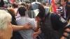 Altercaţii în centrul Capitalei. Gruparea Antifa a provocat ciocniri violente cu poliţia (FOTO/VIDEO)