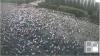 PROTEST  în Capitală. Mii de oameni s-au adunat în Piaţa Marii Adunări Naţionale
