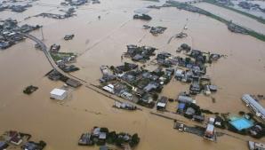 Japonia, lovită de inundaţii. Sute de mii de oameni au fost evacuați din calea puhoaielor