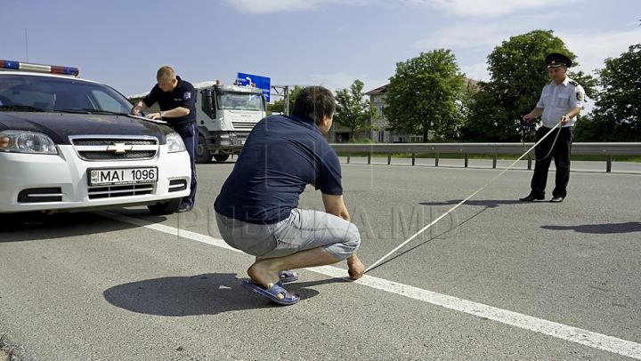 ACCIDENT GRAV pe şoseaua Balcani. O femeie a fost lovită pe carosabil de un automobil