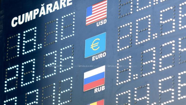 CURS VALUTAR 18 ianuarie 2016: Leul, într-o uşoară apreciere faţă de valutele străine