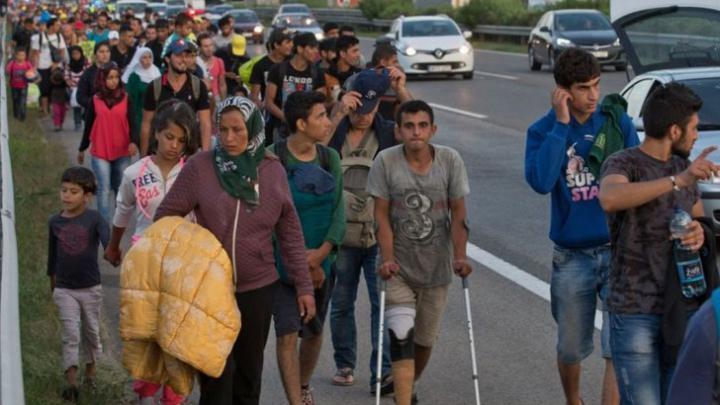 Veste bună pentru imigranţi. Austria şi Germania le permit intrarea refugiaţilor în tară