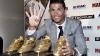 Record istoric! Cristiano Ronaldo a primit pentru a patra oară trofeul Gheata de Aur