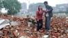 O clădire aflată în proces de renovare s-a prăbuşit în China: 17 morți și 23 de răniți (FOTO/VIDEO)