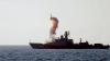 Nave de război ruseşti din Marea Caspică lansează rachete spre ţinte din Siria (VIDEO)
