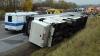 ACCIDENT GRAV în Germania. Un autobuz cu pasageri minori s-a răsturnat (FOTO/VIDEO)
