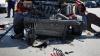 GEST ÎNDUIOŞĂTOR! Ce a făcut un poliţist după un GRAV ACCIDENT RUTIER (FOTO)