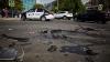 ACCIDENT GROAZNIC în Capitală: Două maşini s-au ciocnit violent (VIDEO)