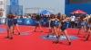 Jucătorii echipei de baschet Orlando Magic au încântat spectatorii cu trucuri spectaculoase pe o plajă
