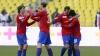 ŢSKA rămâne lider în clasament, după ce a învins Dinamo cu 2-0