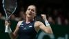 Radwanska s-a calificat în finala Turneului Campioanelor de la Singapore, unde va juca cu Kvitova