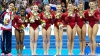 Gimnastele americance şi-au apărat titlul de campioane mondiale