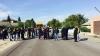 Protest la Bozieni! Oamenii au blocat şoseaua Hânceşti - Cimişlia
