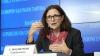 Comisarul UE pentru Comerţ Cecilia Malmström: Suntem îngrijorați de scandalul din sistemul bancar