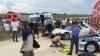 TRAGEDIE la un show auto! MOMENTUL în care un bolid intră cu viteză într-un grup de spectatori (VIDEO)