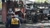 Eroi în misiune! Doi pompieri au murit după ce acoperişul unui bloc s-a prăbuşit