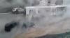DRUM INFERNAL în Chişinău! Strada Dosoftei a dispărut într-un potop cu apă caldă şi aburi (VIDEO/FOTO)