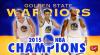 Echipa Golden State Warriors a primit inelele de campioană în NBA
