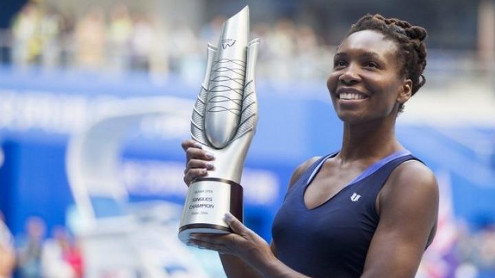 Fostul lider mondial din tenisul feminin, Venus Williams, a câştigat turneul de la Wuhan