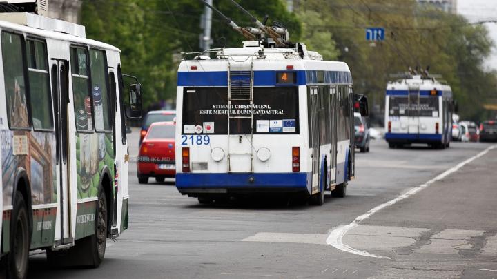 IMPORTANT! Circulaţia transportului public a fost modificată, ca urmare a blocării bd. Ştefan cel Mare