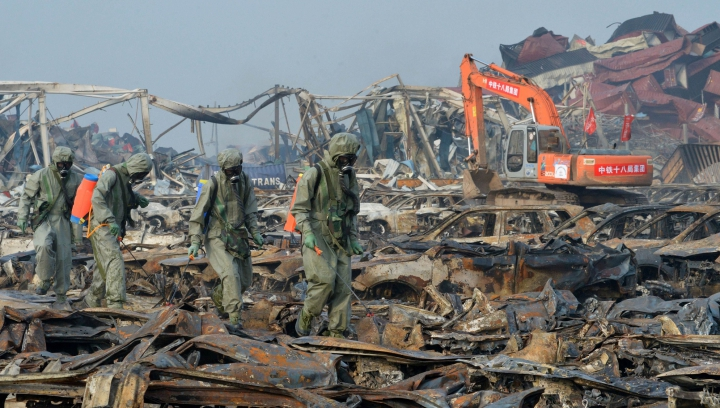O nouă explozie ZGUDUIE China la doar două luni după deflagraţiile care a luat viaţa a zeci de oameni