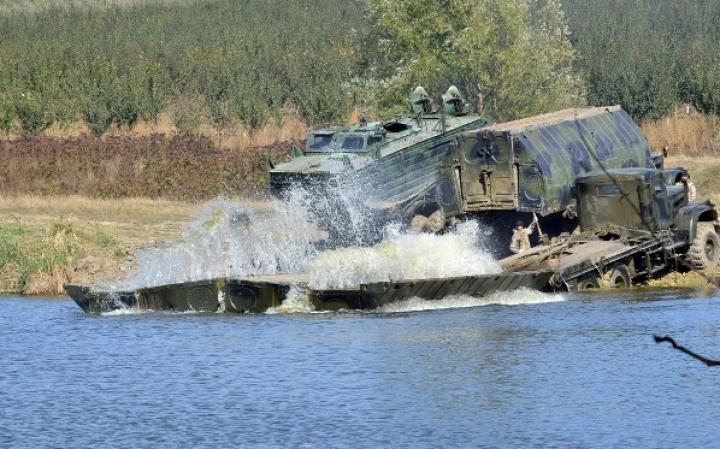 Şi-au fortificat puterile! Geniştii Armatei Naţionale au participat la exerciţii tactice demonstrative (VIDEO)