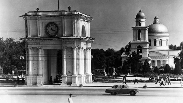 IMAGINI DE COLECŢIE. Cum arăta oraşul Chişinău în anii '60 - '80 ai secolului trecut (VIDEO)